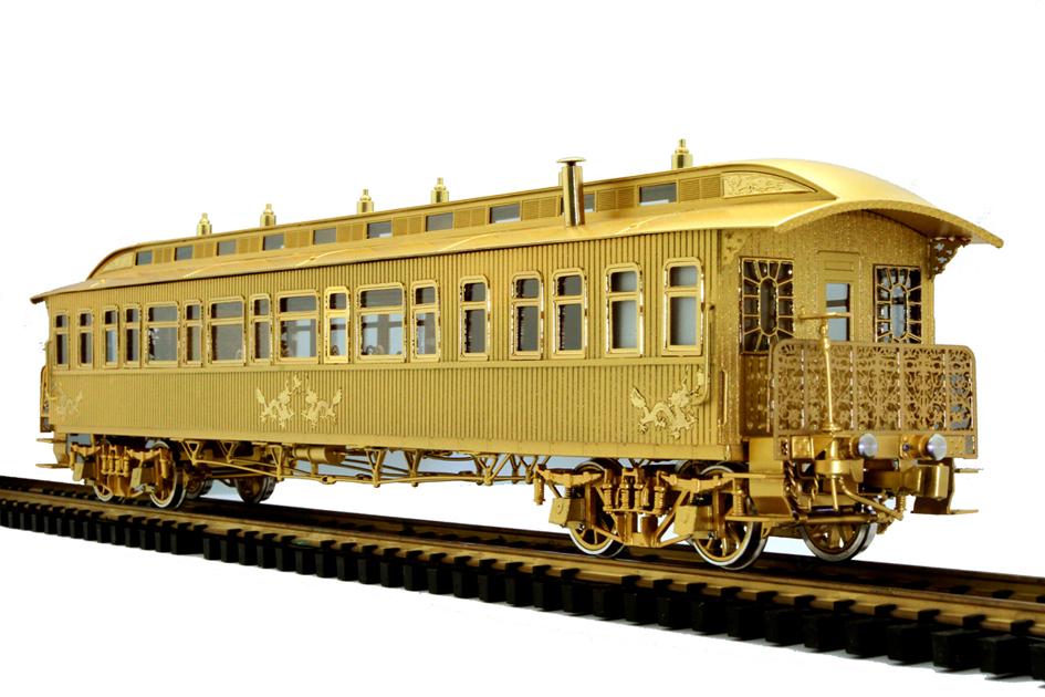 O Scale China Royal Carriage