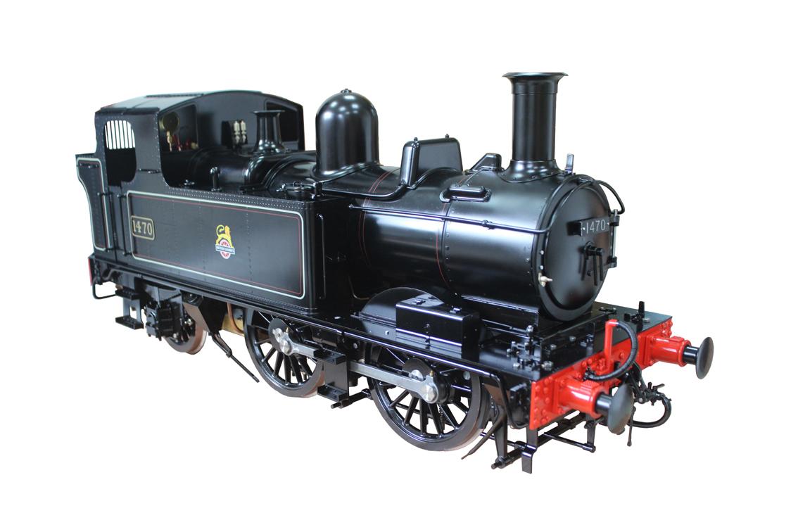 G5 Scale British 14XX Black