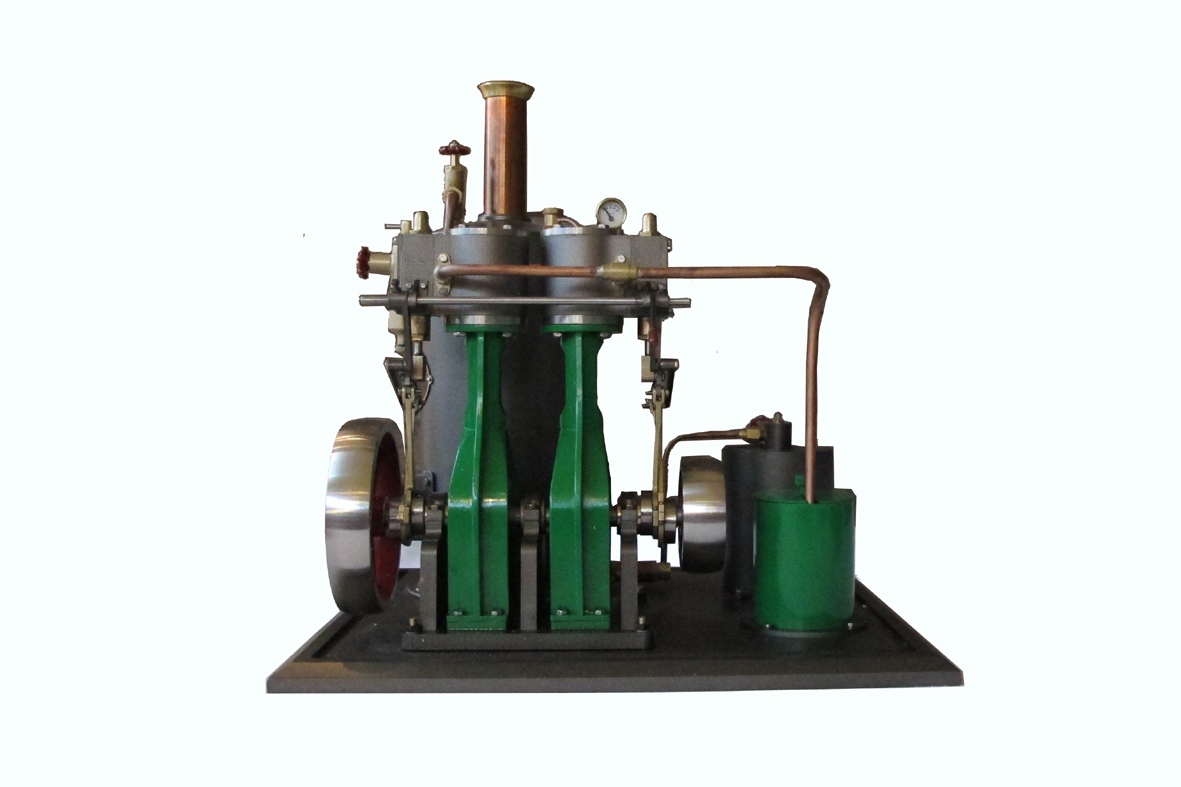Two Cylinders Steam Engine